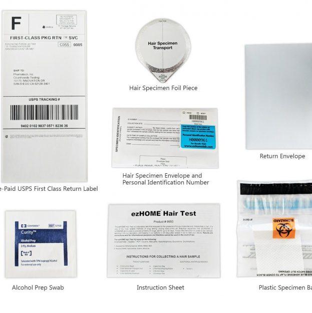 home-hair-test-items