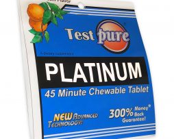 Test Pure® Platinum 45 Minute Chewable Tablet